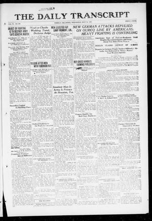 Primary view of object titled 'The Daily Transcript  (Norman, Okla.), Vol. 6, No. 109, Ed. 1 Wednesday, July 31, 1918'.