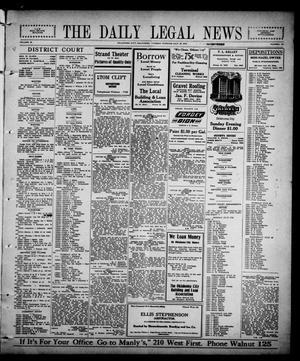 Primary view of The Daily Legal News (Oklahoma City, Okla.), Vol. 12, No. 271, Ed. 1 Tuesday, July 18, 1916