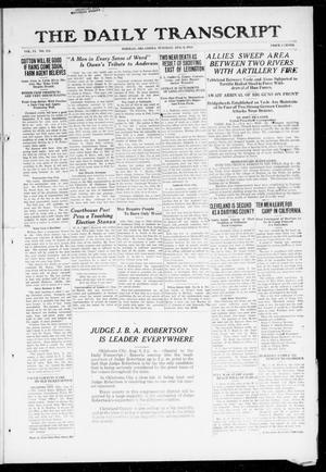 The Daily Transcript  (Norman, Okla.), Vol. 6, No. 114, Ed. 1 Tuesday, August 6, 1918