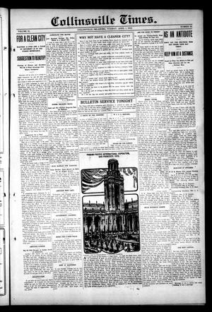 Primary view of object titled 'Collinsville Times. (Collinsville, Okla.), Vol. 9, No. 53, Ed. 1 Tuesday, April 1, 1913'.