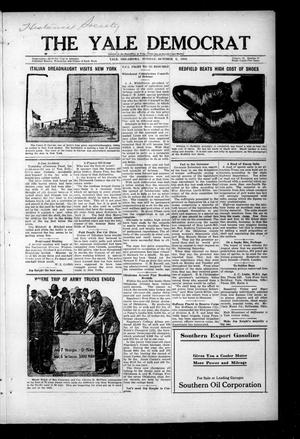 Primary view of object titled 'The Yale Democrat (Yale, Okla.), Vol. 12, No. 17, Ed. 1 Monday, October 6, 1919'.
