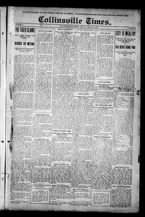Primary view of object titled 'Collinsville Times. (Collinsville, Okla.), Vol. 10, No. 28, Ed. 1 Tuesday, January 6, 1914'.
