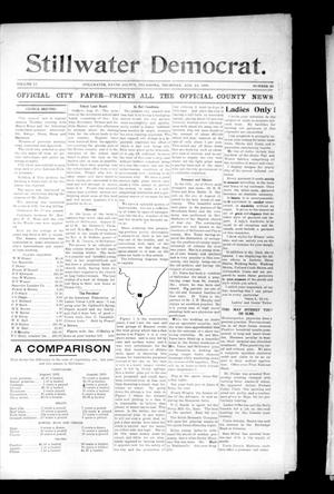 Primary view of object titled 'Stillwater Democrat. (Stillwater, Okla.), Vol. 13, No. 26, Ed. 1 Thursday, August 22, 1901'.