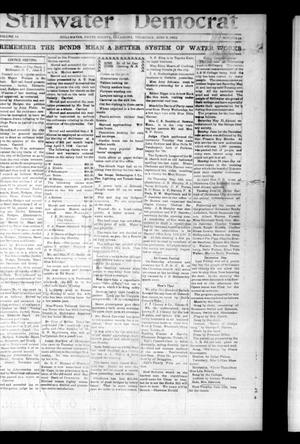 Primary view of object titled 'Stillwater Democrat (Stillwater, Okla.), Vol. 14, No. 14, Ed. 1 Thursday, June 5, 1902'.
