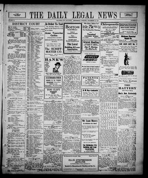 Primary view of object titled 'The Daily Legal News (Oklahoma City, Okla.), Vol. 13, No. 89, Ed. 1 Wednesday, November 22, 1916'.