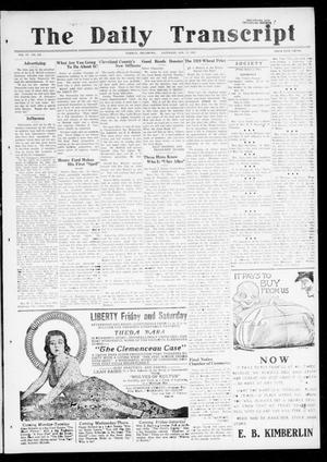 The Daily Transcript  (Norman, Okla.), Vol. 6, No. 245, Ed. 1 Saturday, January 11, 1919