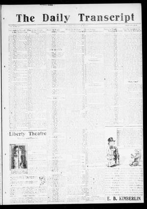 Primary view of object titled 'The Daily Transcript  (Norman, Okla.), Vol. 6, No. 246, Ed. 1 Monday, January 13, 1919'.