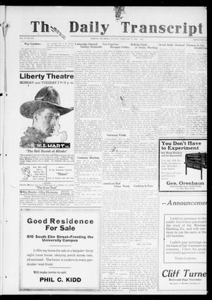 The Daily Transcript  (Norman, Okla.), Vol. 6, No. 276, Ed. 1 Tuesday, February 18, 1919