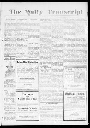 The Daily Transcript  (Norman, Okla.), Vol. 6, No. 283, Ed. 1 Tuesday, February 25, 1919