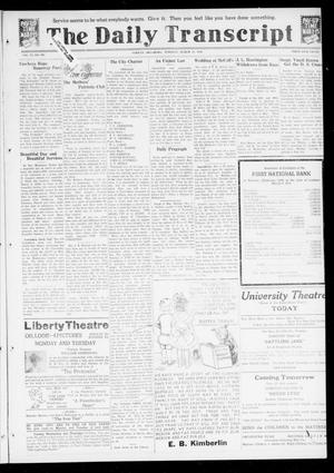 Primary view of object titled 'The Daily Transcript  (Norman, Okla.), Vol. 6, No. 295, Ed. 1 Tuesday, March 11, 1919'.