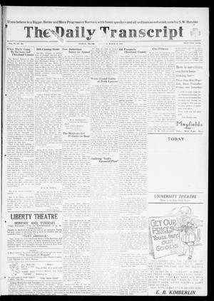 The Daily Transcript  (Norman, Okla.), Vol. 6, No. 301, Ed. 1 Tuesday, March 18, 1919