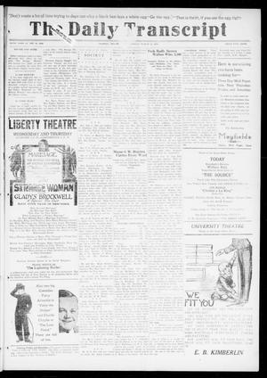 The Daily Transcript  (Norman, Okla.), Vol. 6, No. 302, Ed. 1 Wednesday, March 19, 1919