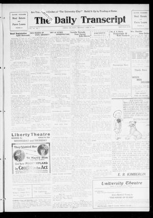 Primary view of object titled 'The Daily Transcript  (Norman, Okla.), Vol. 7, No. 9, Ed. 1 Thursday, April 10, 1919'.