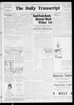 The Daily Transcript  (Norman, Okla.), Vol. 7, No. 32, Ed. 1 Wednesday, May 7, 1919