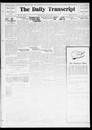 Primary view of object titled 'The Daily Transcript  (Norman, Okla.), Vol. 7, No. 34, Ed. 1 Sunday, May 11, 1919'.