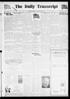 Primary view of object titled 'The Daily Transcript  (Norman, Okla.), Vol. 7, No. 78, Ed. 1 Monday, June 30, 1919'.