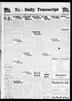 The Daily Transcript  (Norman, Okla.), Vol. 7, No. 113, Ed. 1 Monday, August 11, 1919