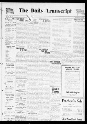 Primary view of object titled 'The Daily Transcript  (Norman, Okla.), Vol. 7, No. 114, Ed. 1 Tuesday, August 12, 1919'.