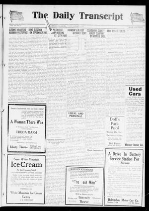 The Daily Transcript  (Norman, Okla.), Vol. 7, No. 117, Ed. 1 Friday, August 15, 1919