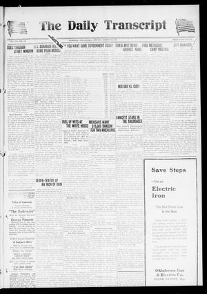 The Daily Transcript  (Norman, Okla.), Vol. 7, No. 119, Ed. 1 Monday, August 18, 1919