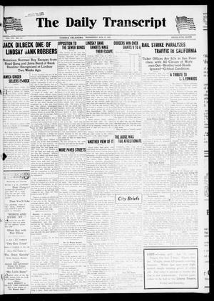 The Daily Transcript  (Norman, Okla.), Vol. 7, No. 127, Ed. 1 Wednesday, August 27, 1919