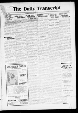 The Daily Transcript  (Norman, Okla.), Vol. 7, No. 147, Ed. 1 Monday, September 22, 1919