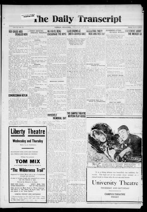 The Daily Transcript  (Norman, Okla.), Vol. 7, No. 173, Ed. 1 Wednesday, October 22, 1919