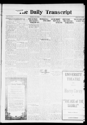 Primary view of object titled 'The Daily Transcript  (Norman, Okla.), Vol. 7, No. 178, Ed. 1 Tuesday, October 28, 1919'.