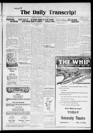 Primary view of The Daily Transcript  (Norman, Okla.), Vol. 7, No. 197, Ed. 1 Wednesday, November 19, 1919