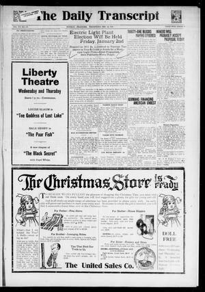 The Daily Transcript  (Norman, Okla.), Vol. 7, No. 214, Ed. 1 Wednesday, December 10, 1919