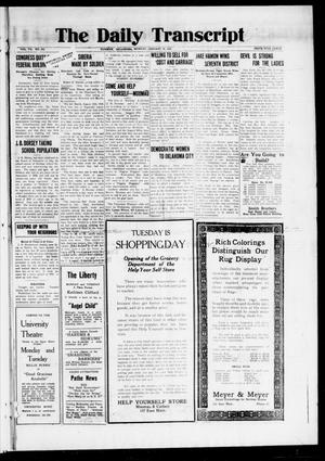 The Daily Transcript  (Norman, Okla.), Vol. 7, No. 253, Ed. 1 Monday, January 26, 1920
