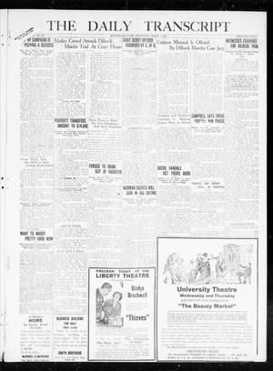 Primary view of object titled 'The Daily Transcript  (Norman, Okla.), Vol. 7, No. 285, Ed. 1 Wednesday, March 3, 1920'.