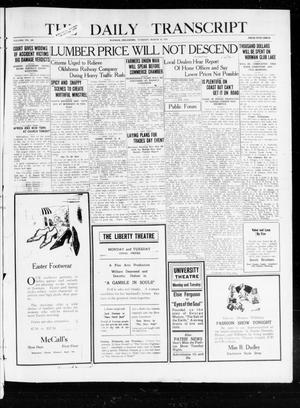 The Daily Transcript  (Norman, Okla.), Vol. 7, No. 308, Ed. 1 Tuesday, March 30, 1920