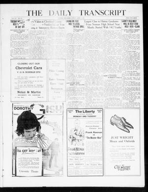 The Daily Transcript  (Norman, Okla.), Vol. 7, No. 312, Ed. 1 Sunday, April 4, 1920