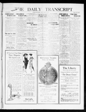 Primary view of object titled 'The Daily Transcript  (Norman, Okla.), Vol. 8, No. 2, Ed. 1 Friday, April 23, 1920'.