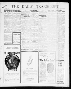 Primary view of object titled 'The Daily Transcript  (Norman, Okla.), Vol. 8, No. 11, Ed. 1 Tuesday, May 4, 1920'.