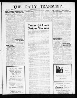 Primary view of object titled 'The Daily Transcript  (Norman, Okla.), Vol. 8, No. 21, Ed. 1 Sunday, May 16, 1920'.