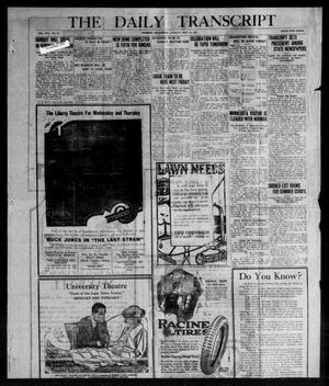 The Daily Transcript  (Norman, Okla.), Vol. 8, No. 23, Ed. 1 Tuesday, May 18, 1920
