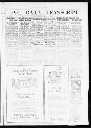 Primary view of object titled 'The Daily Transcript  (Norman, Okla.), Vol. 8, No. 70, Ed. 1 Tuesday, July 13, 1920'.