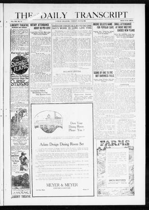 The Daily Transcript  (Norman, Okla.), Vol. 8, No. 76, Ed. 1 Tuesday, July 20, 1920