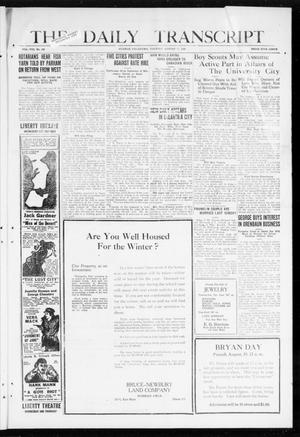 The Daily Transcript  (Norman, Okla.), Vol. 8, No. 100, Ed. 1 Tuesday, August 17, 1920