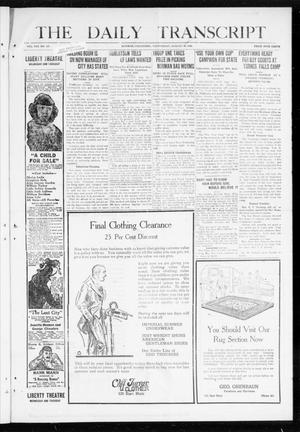 The Daily Transcript  (Norman, Okla.), Vol. 8, No. 107, Ed. 2 Tuesday, August 24, 1920