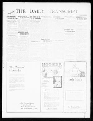 Primary view of object titled 'The Daily Transcript  (Norman, Okla.), Vol. 8, No. 138, Ed. 1 Friday, October 1, 1920'.