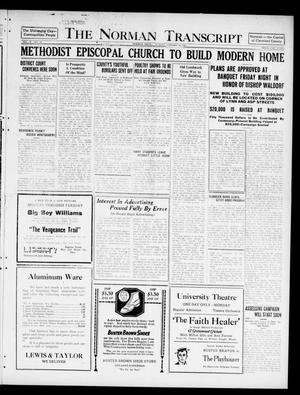 The Norman Transcript  (Norman, Okla.), Vol. 10, No. 10, Ed. 1 Sunday, January 22, 1922