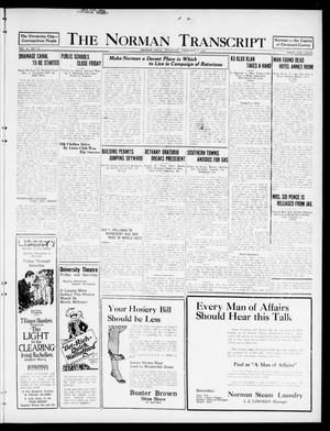 The Norman Transcript  (Norman, Okla.), Vol. 10, No. 18, Ed. 1 Thursday, February 9, 1922