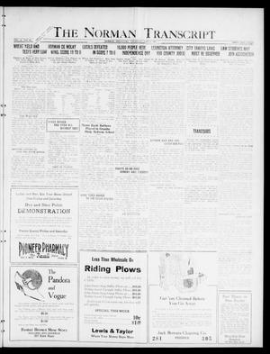 The Norman Transcript  (Norman, Okla.), Vol. 10, No. 81, Ed. 1 Thursday, July 6, 1922
