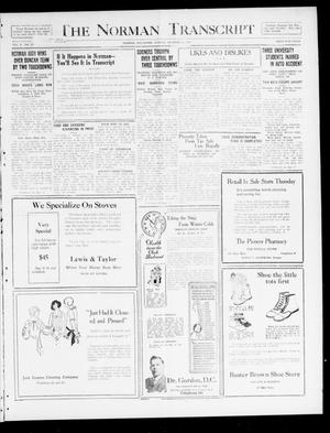 The Norman Transcript  (Norman, Okla.), Vol. 10, No. 127, Ed. 1 Sunday, October 15, 1922