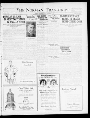 The Norman Transcript  (Norman, Okla.), Vol. 10, No. 151, Ed. 1 Sunday, November 12, 1922
