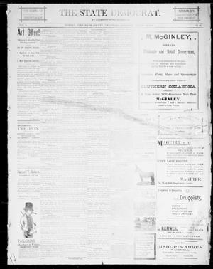 Primary view of The State Democrat. (Norman, Okla.), Vol. 5, No. 67, Ed. 1 Saturday, March 10, 1894