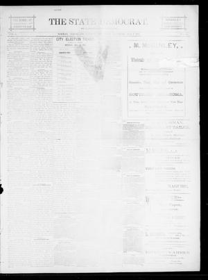 Primary view of object titled 'The State Democrat. (Norman, Okla.), Vol. 5, No. 101, Ed. 1 Saturday, May 5, 1894'.